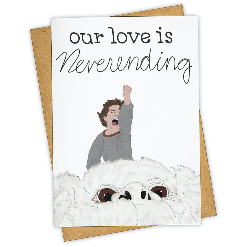 Neverending Story Love Card