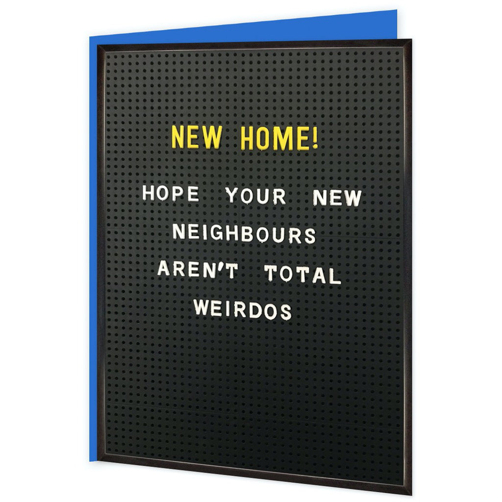 New Home Weirdos Card