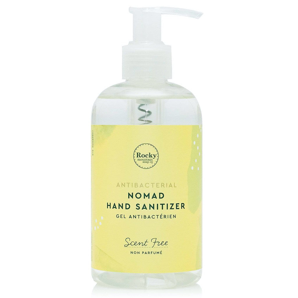 Nomad Hand Cleanser Scent Free - 240 mL