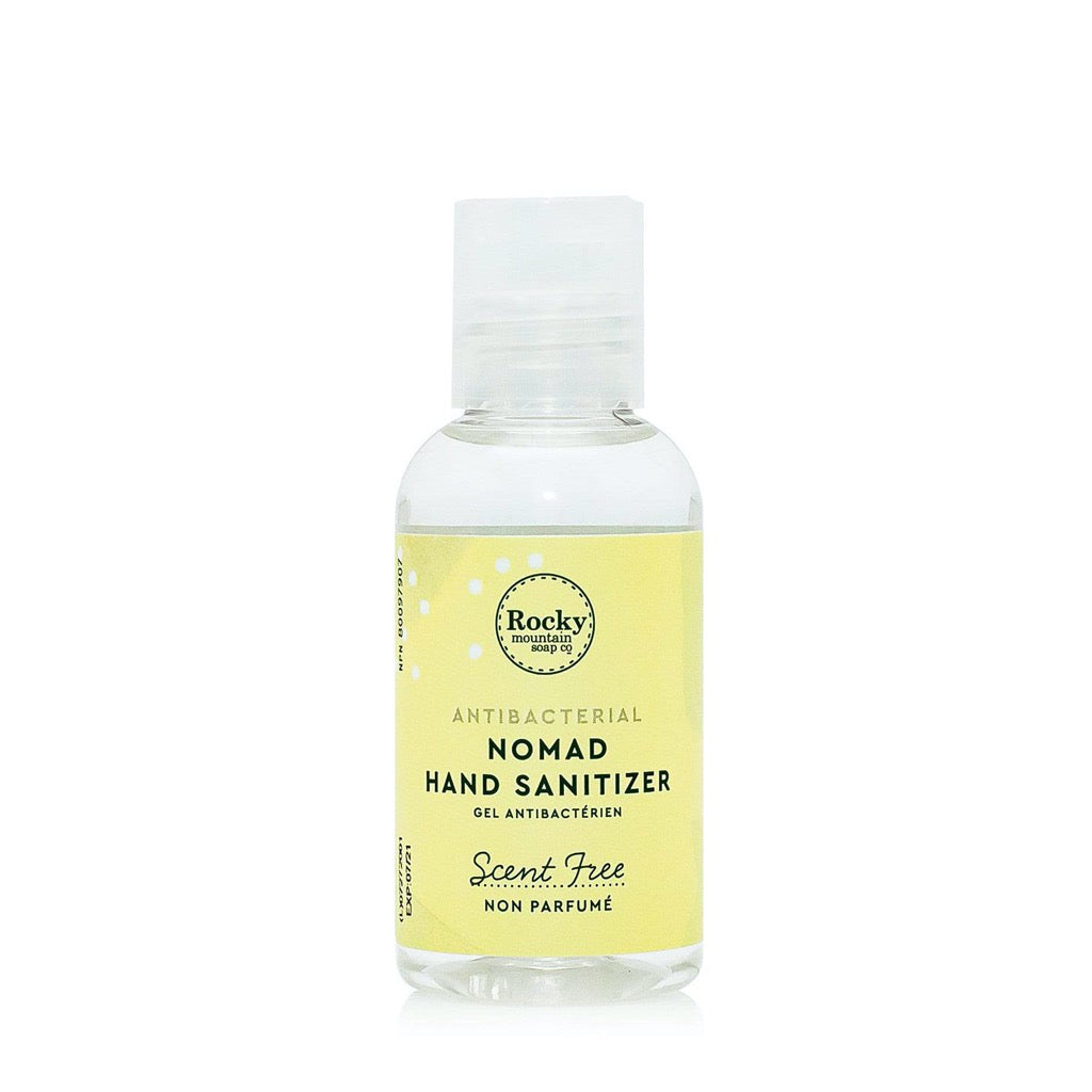Nomad Hand Cleanser Scent Free - 60 mL