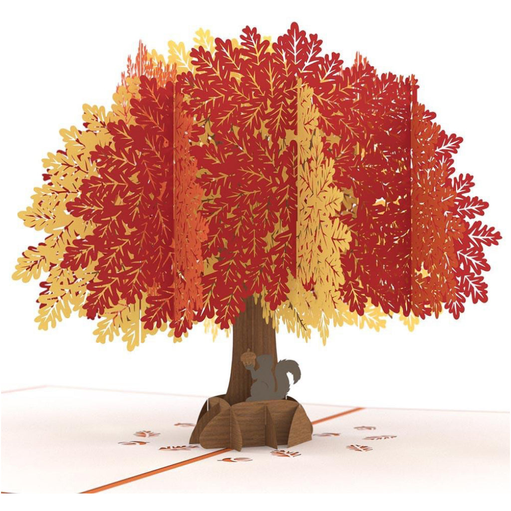 Oak Tree 3D Pop Up Card
