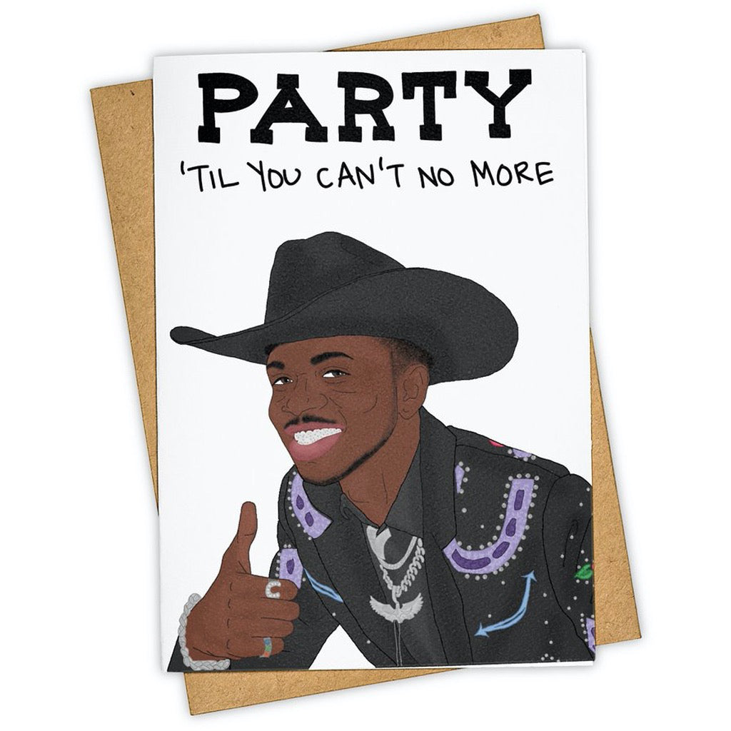 Old Town Road Lil Nas Card