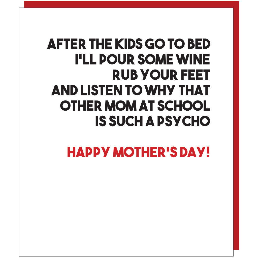 Other Mom Is Psycho Card