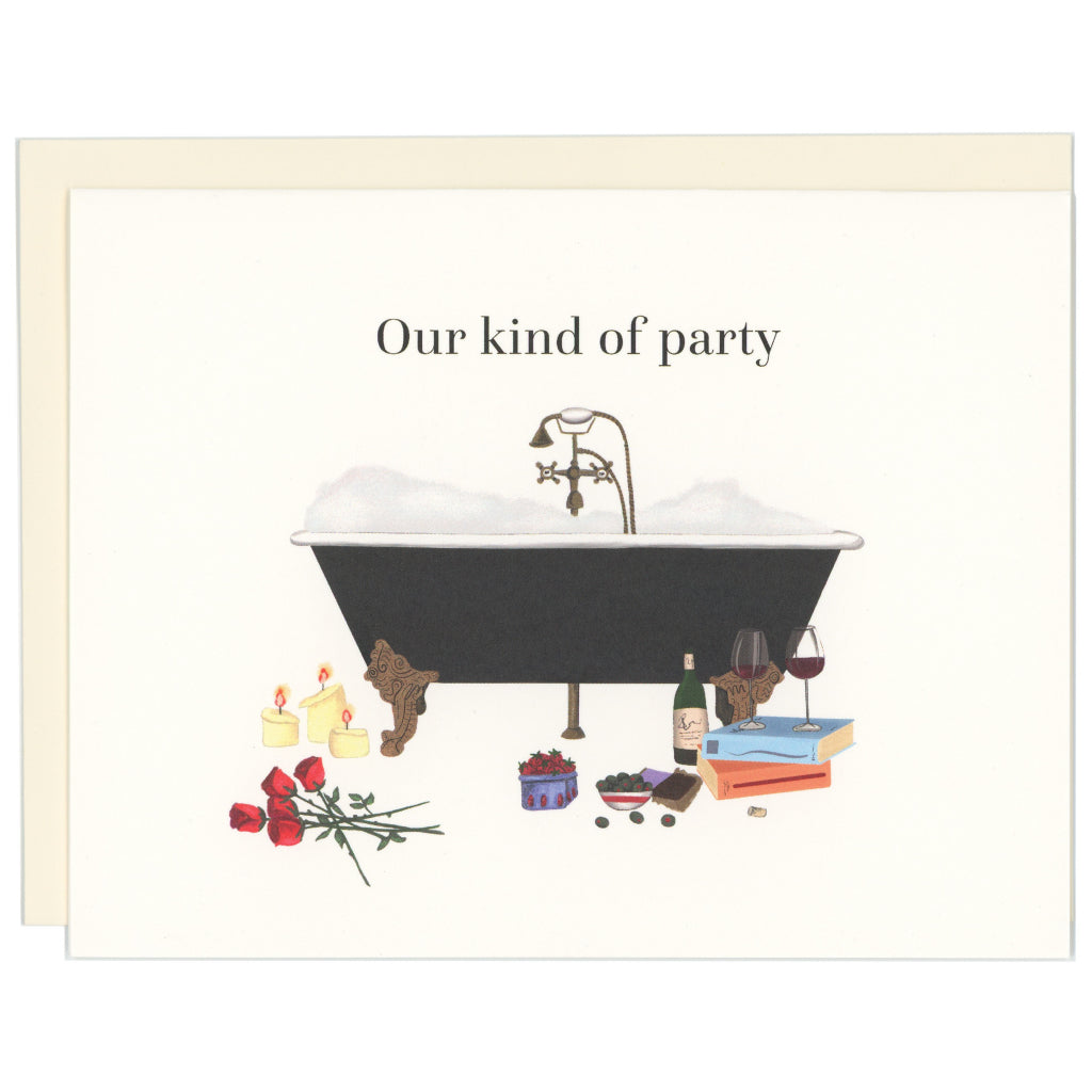 Our Kind Of Party Card