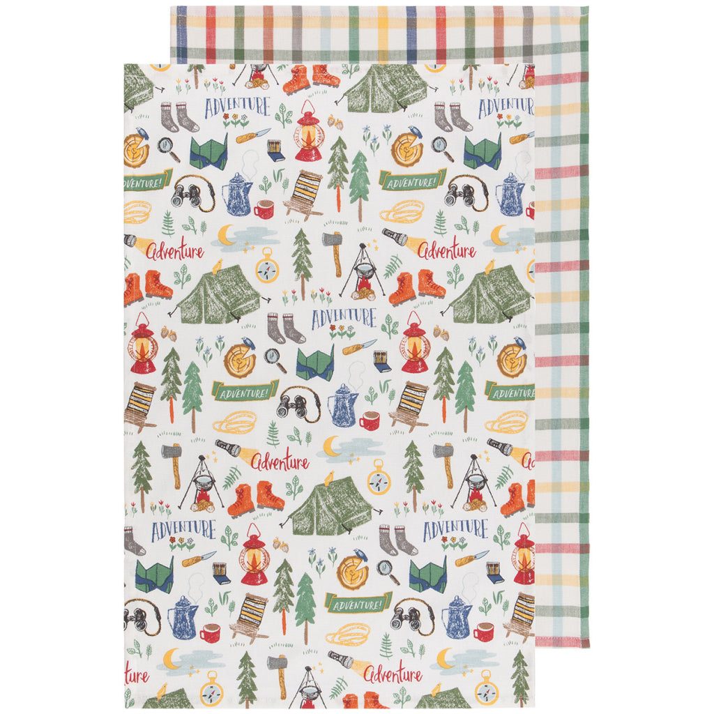 Out & About Tea Towels Set of 2