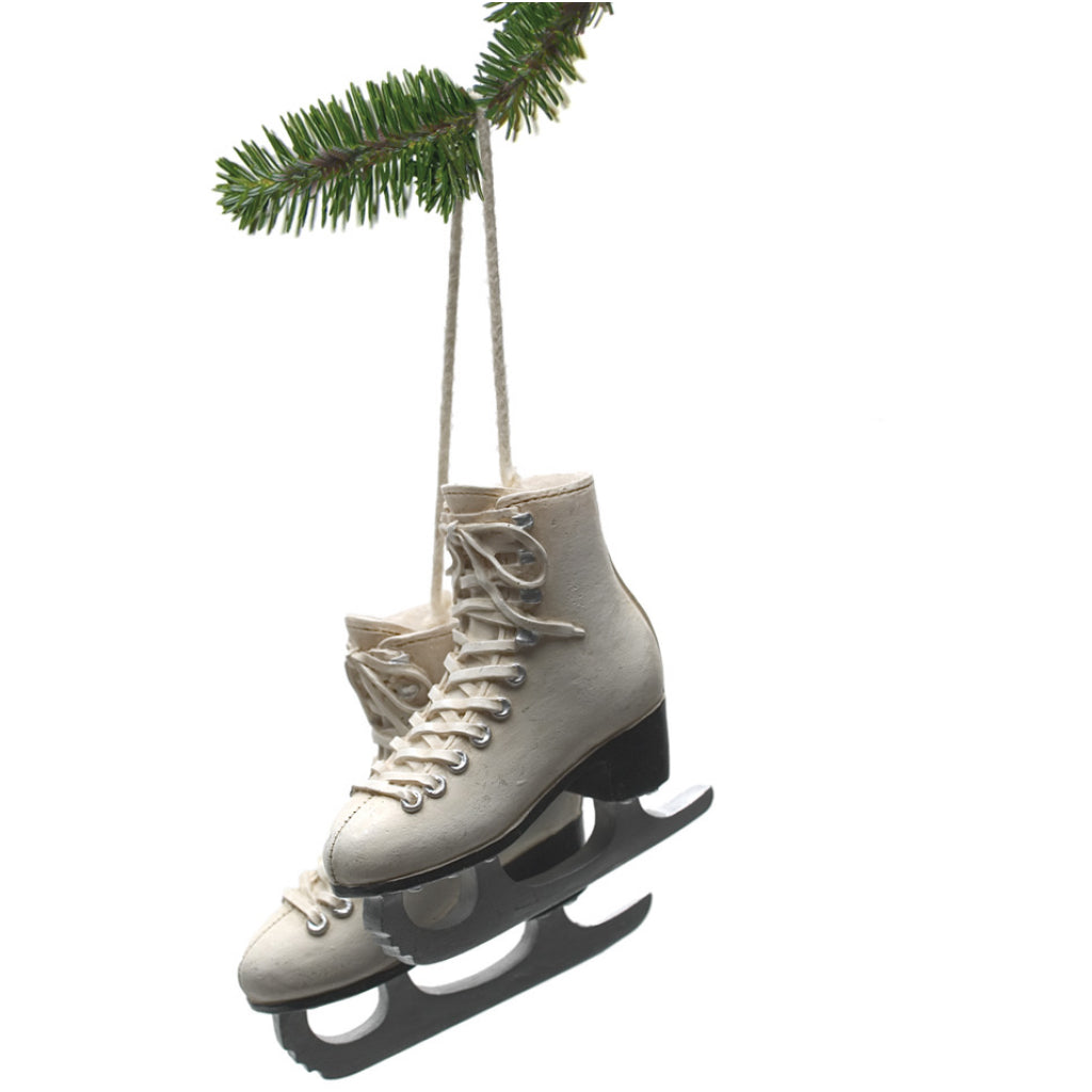 Pair Ivory Figure Skates by Abbott Collection – Outer Layer