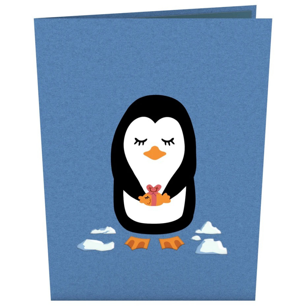 Penguins in Love 3D Pop Up Card
