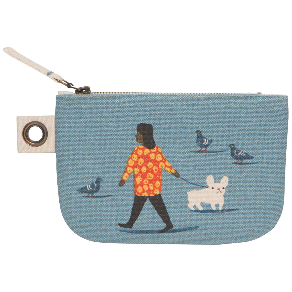 People Person Small Zipper Pouch.
