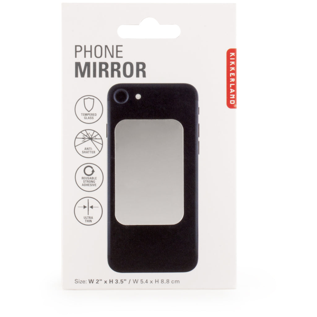 Packaging of Phone Mirror.