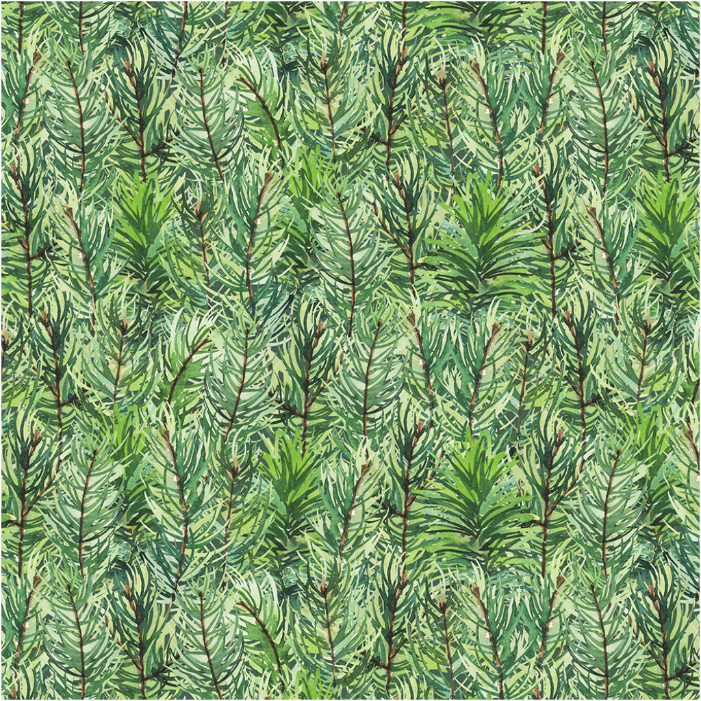 Pine Forest Printed Tissue