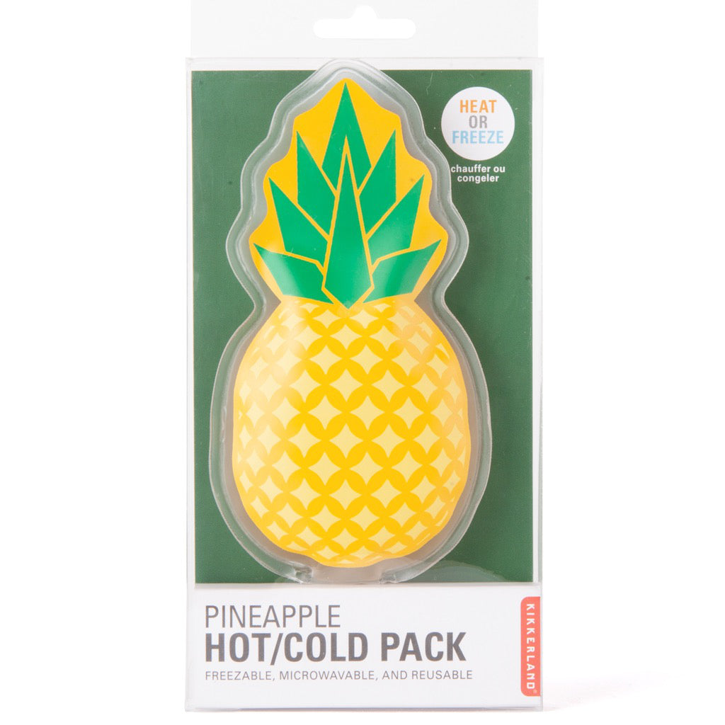 Packaging of Pineapple Hot/Cold Pack.
