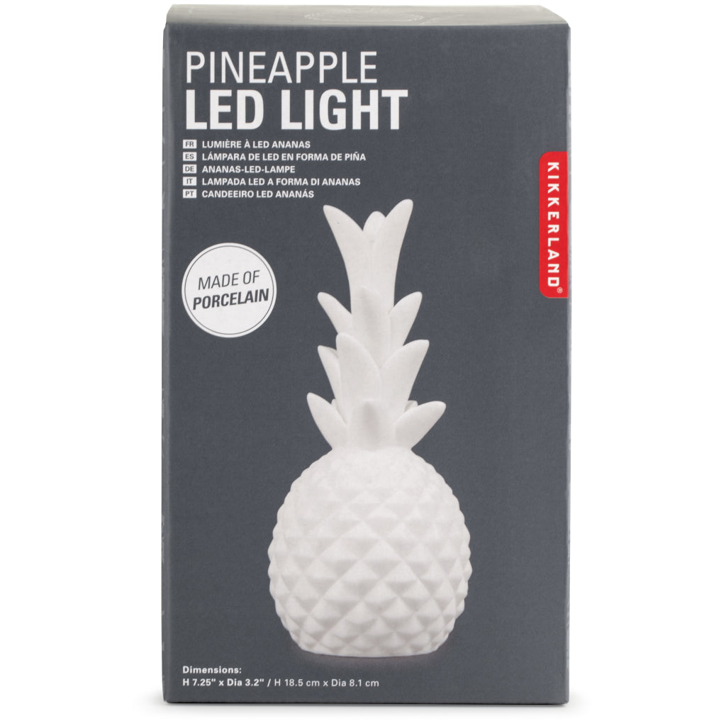 Packaging of Pineapple LED Light.