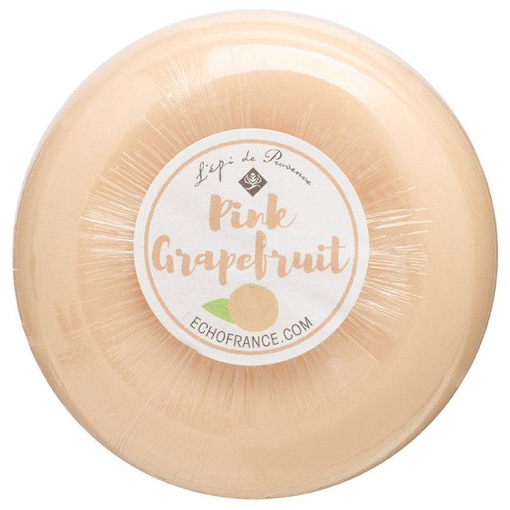 Pink Grapefruit 150g Round Soap