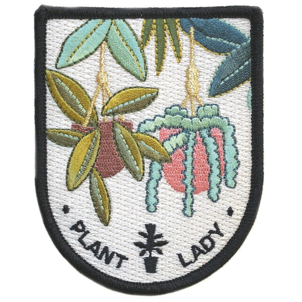 Plant Lady Iron On Patch