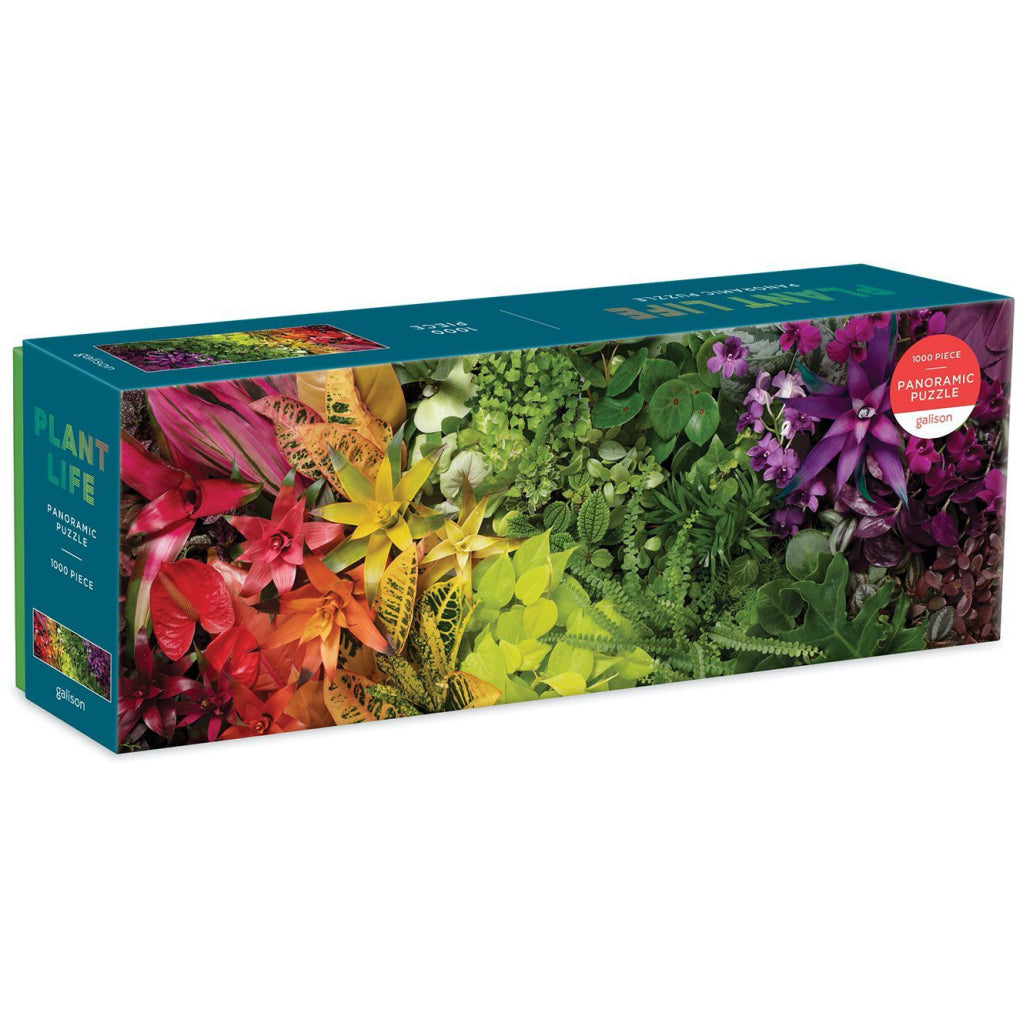 Plant Life 1000pc Panoramic Jigsaw Puzzle Box