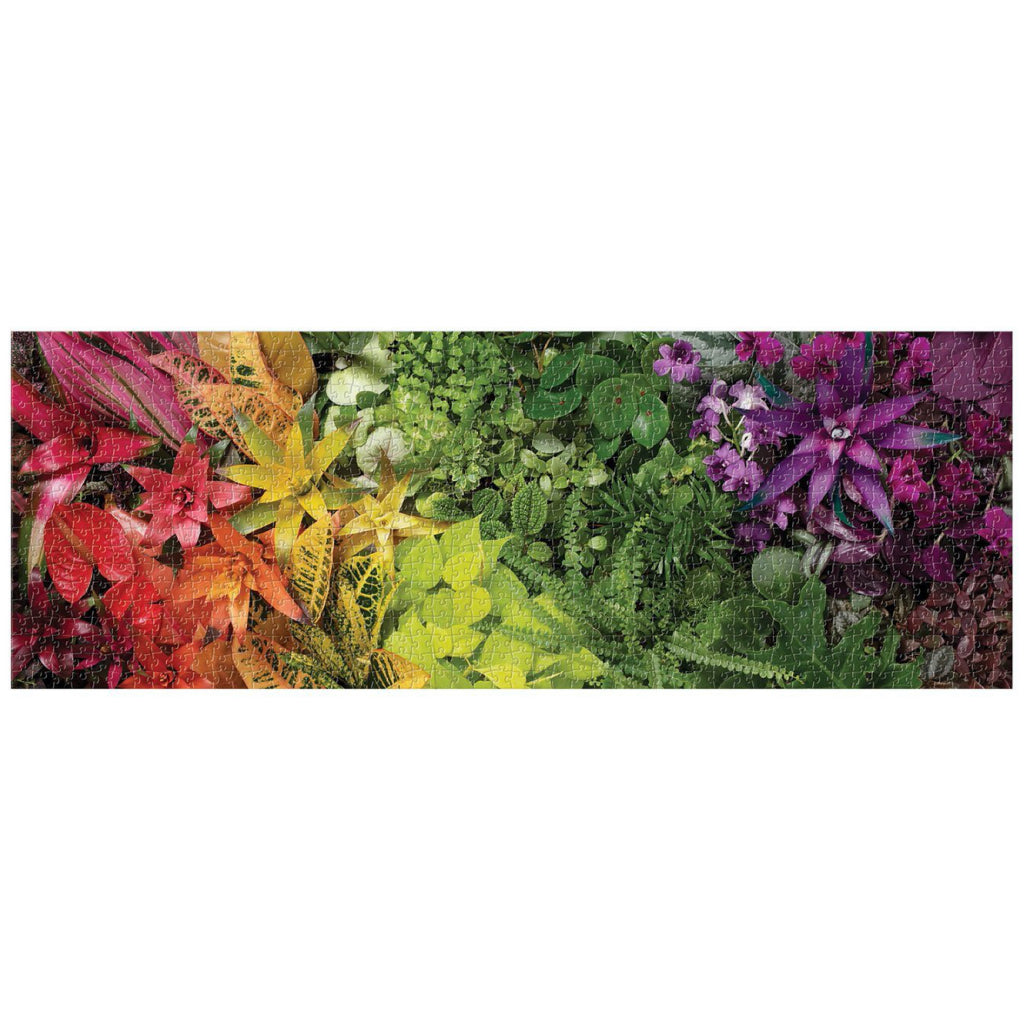 Plant Life 1000pc Panoramic Jigsaw Puzzle Pieces