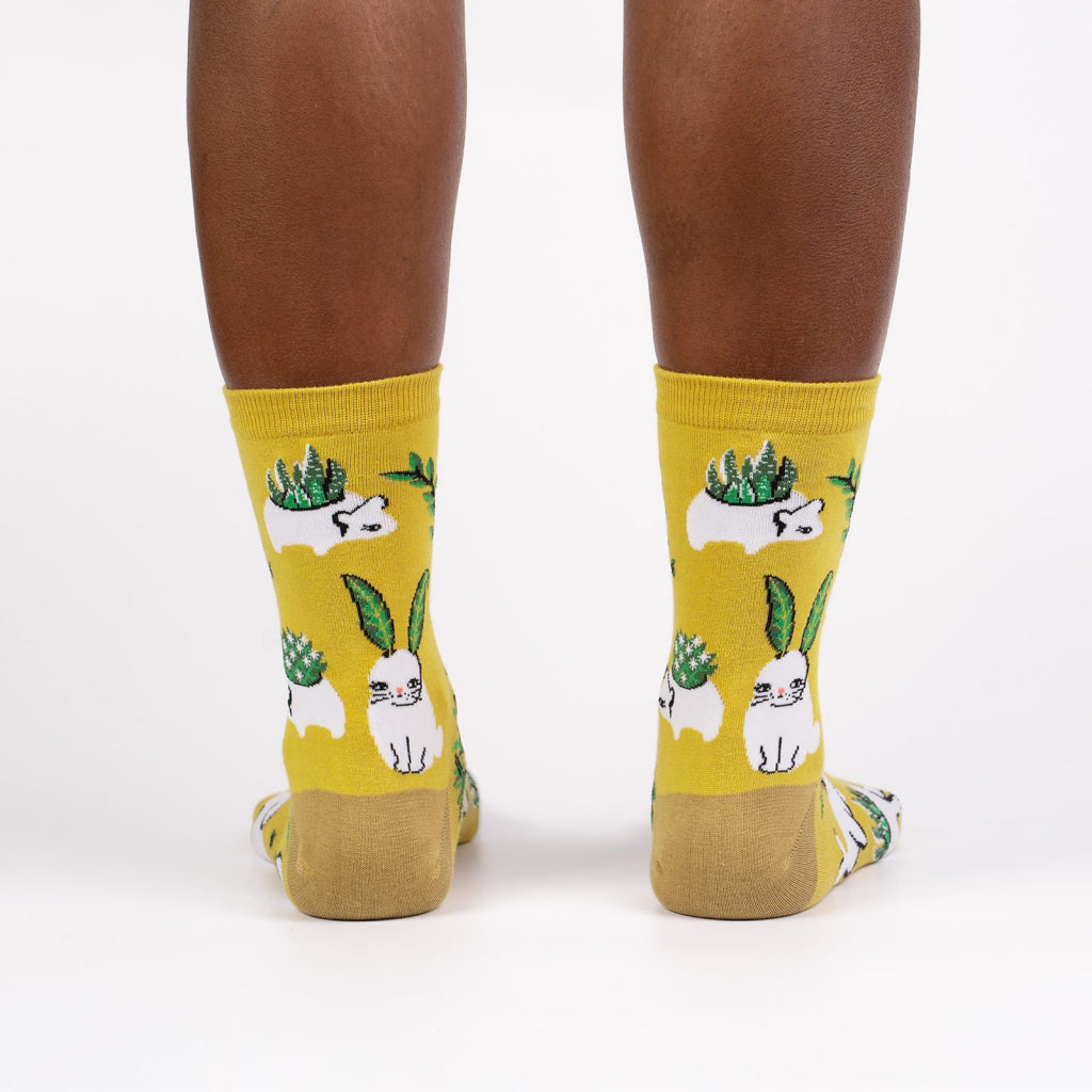 Planters Gonna Plant Women's Crew Socks Back