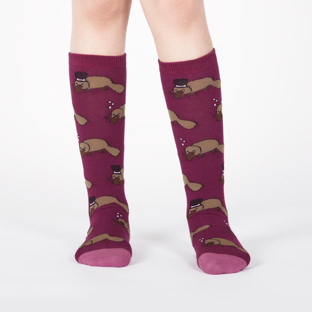 Plati-tude Junior Knee Socks