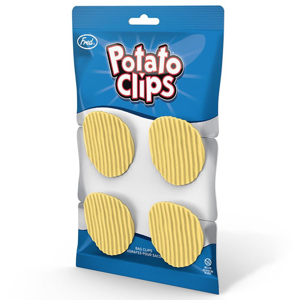 Packaging of Potato Chip Bag Clips.