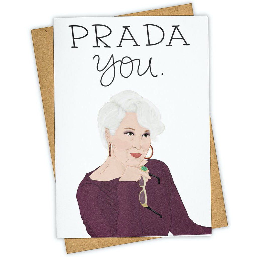 Prada You Meryl Streep Card