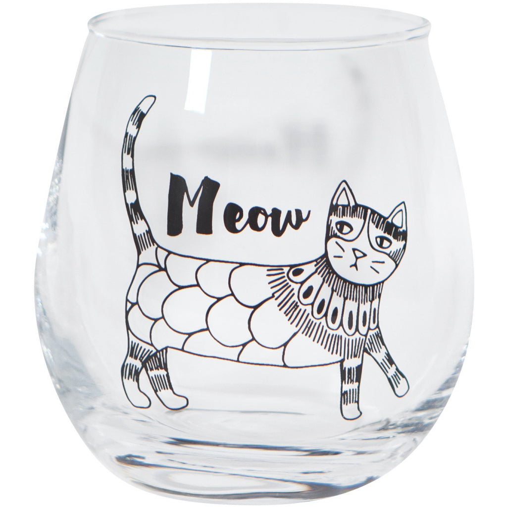 Purr Party Wine Tumbler