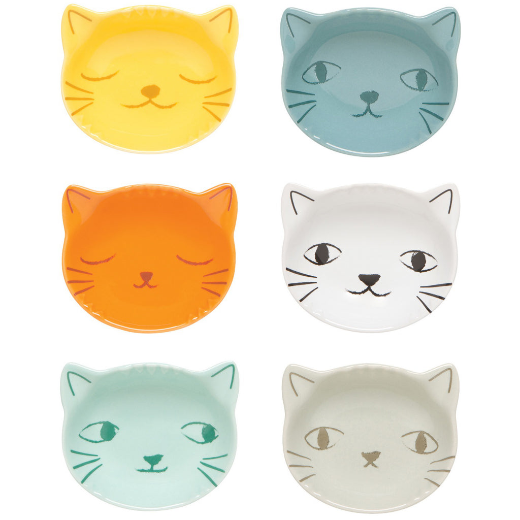 Purrfect Pinch Bowls Set of 6