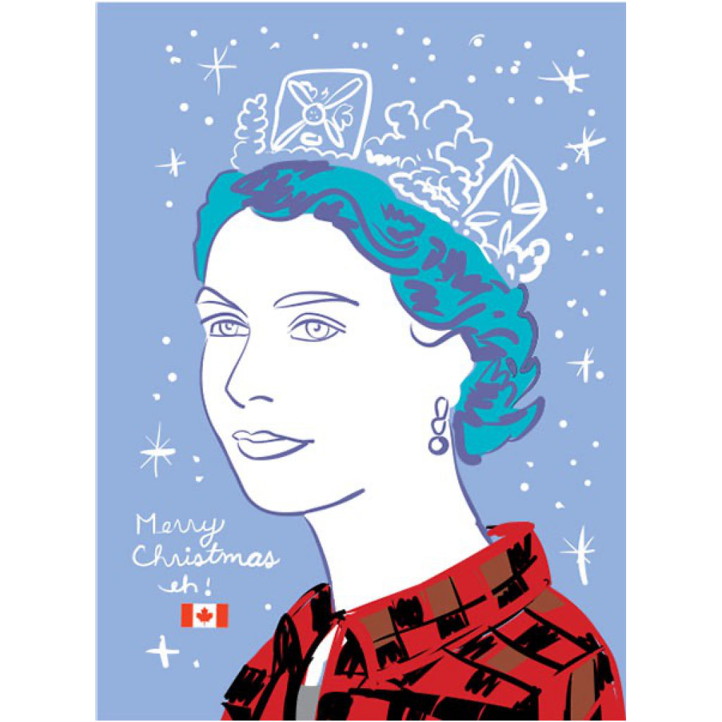 Queen Christmas Card