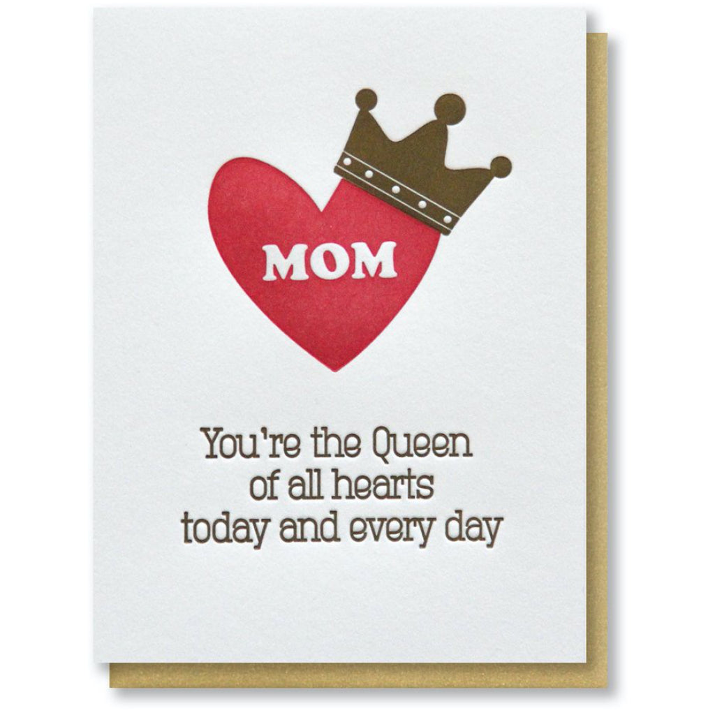 Queen Mom Card