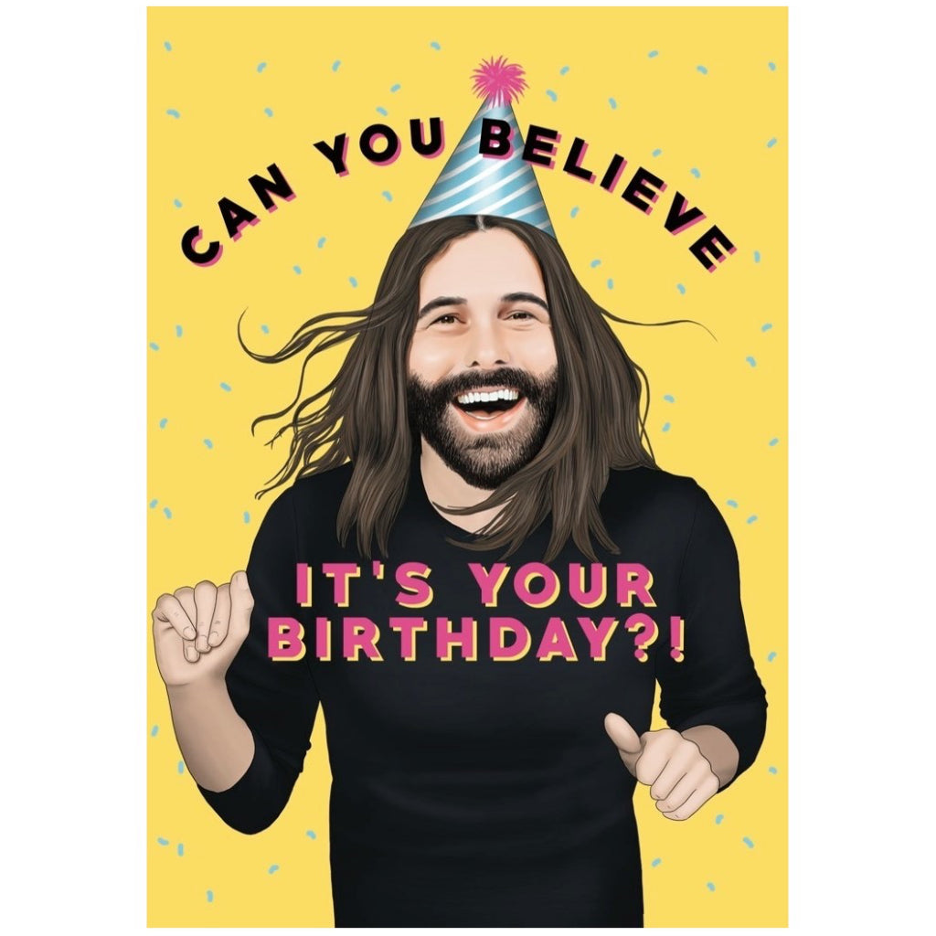 Queer Eye JVN Birthday Card