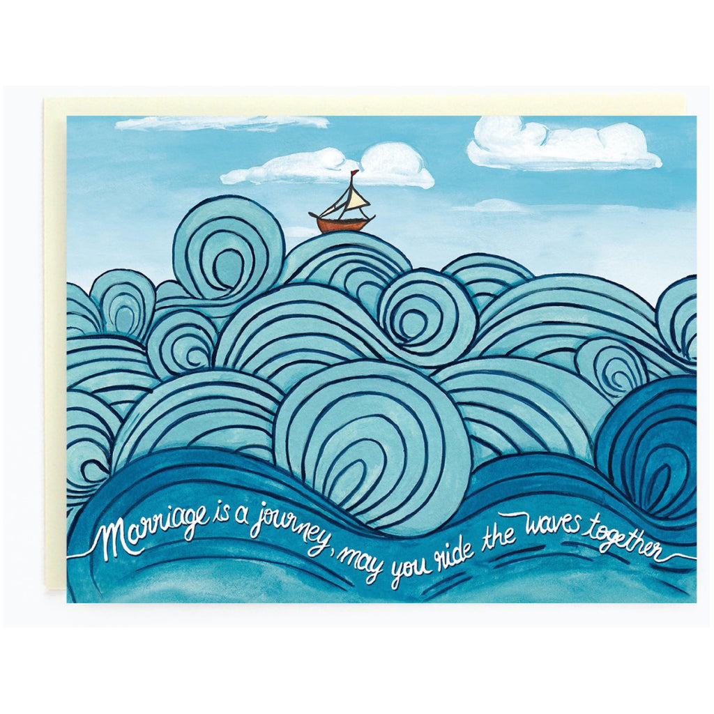 Ride The Waves Together Card