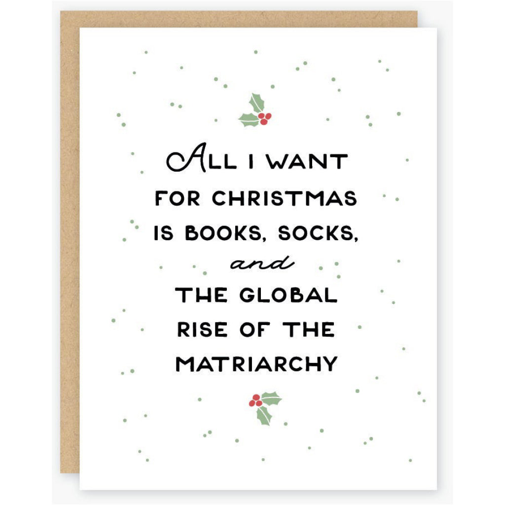 Rise Of The Matriarchy Card