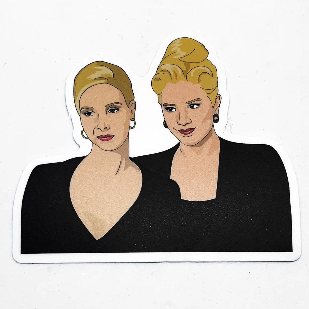 Romy & Michele Sticker