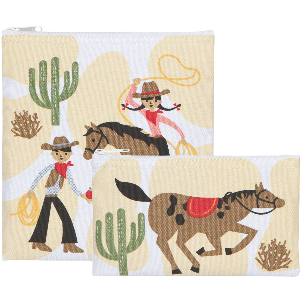 Rootin Tootin Snack Bags Set of 2