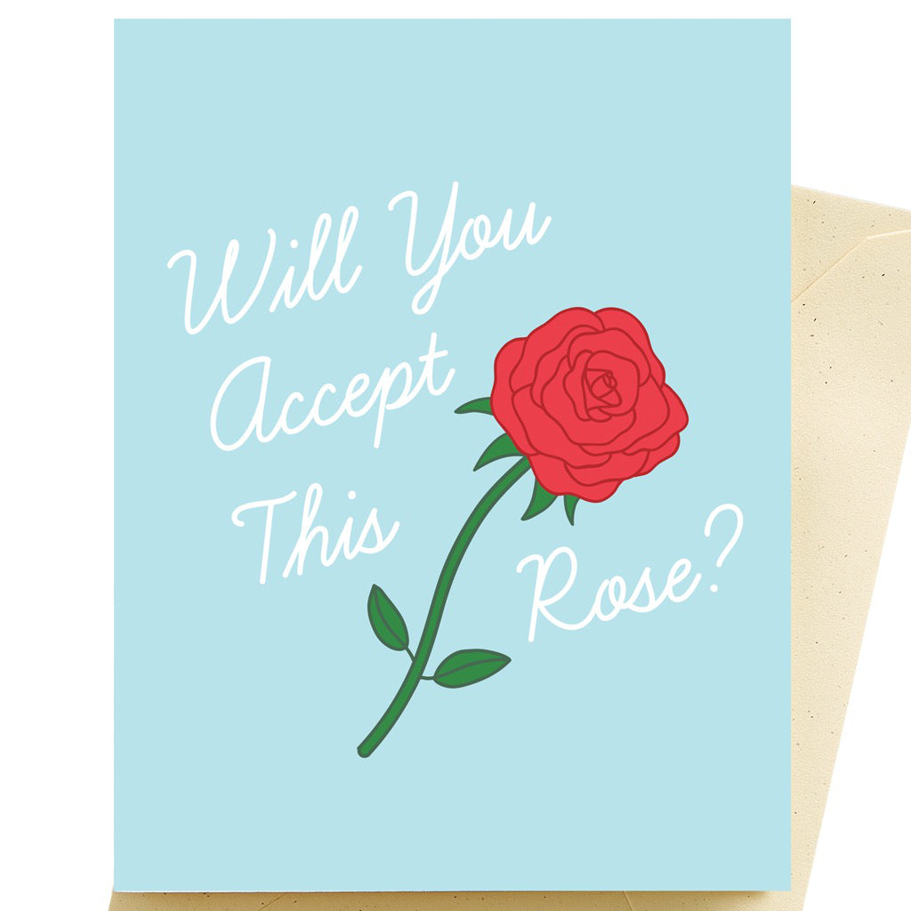 Rose Bridesmaid Card