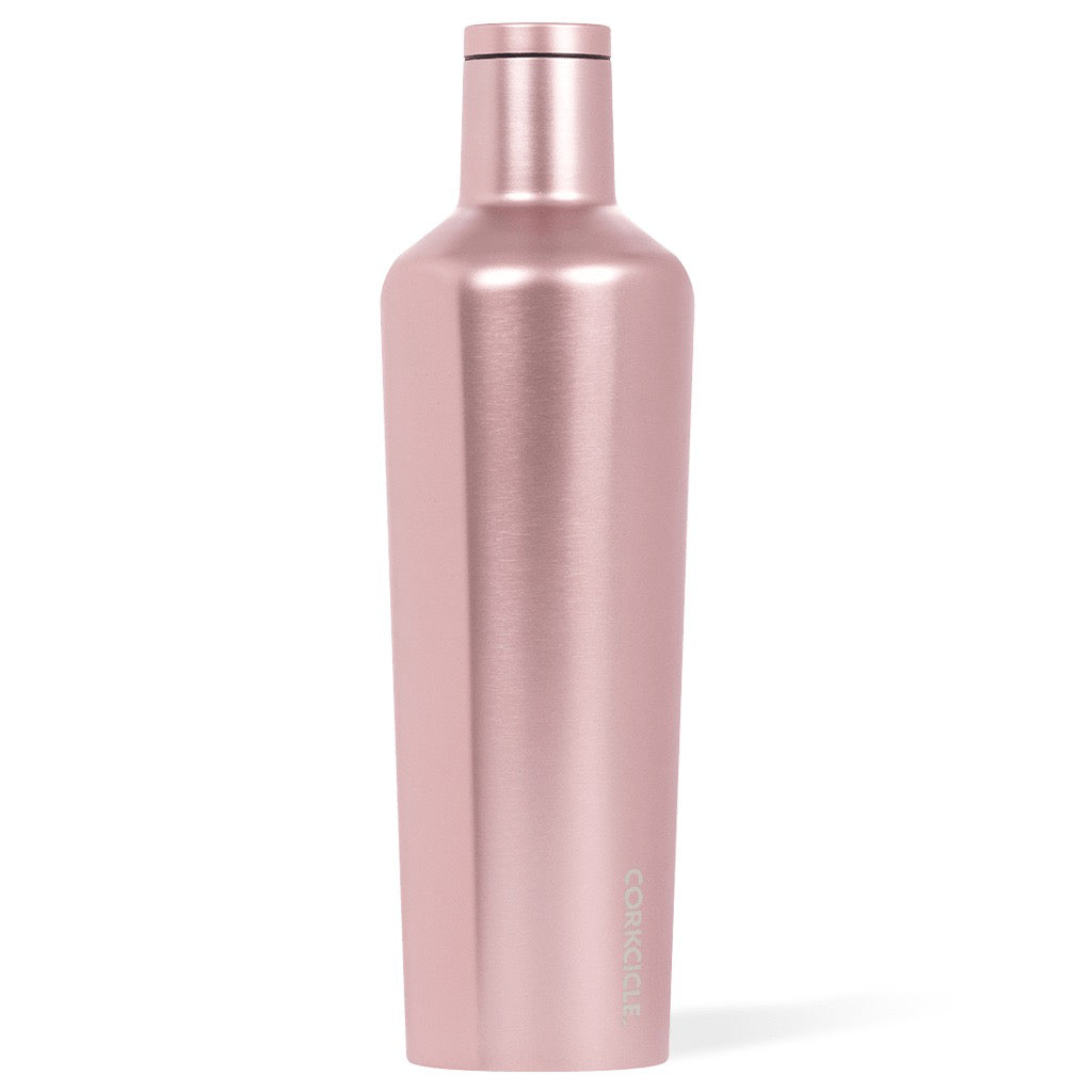 Rose Metallic Canteen 25oz