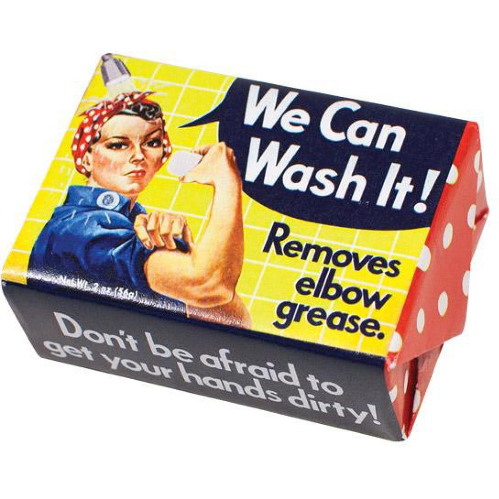 Rosie The Riveter Bar Soap