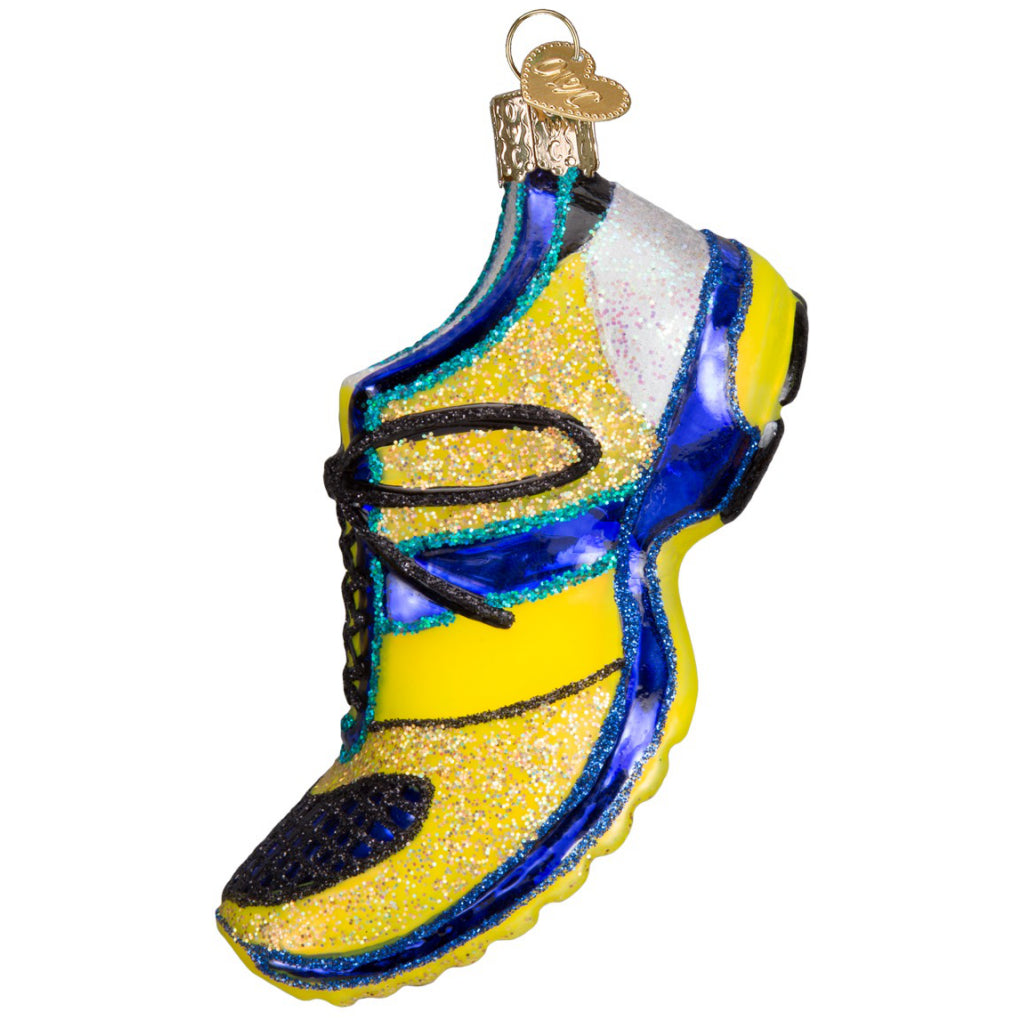 Side of Running Shoe Ornament.