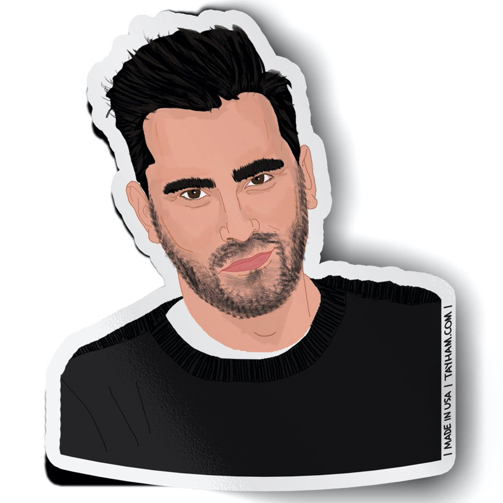 Schitt's Creek Dan Levy Sticker