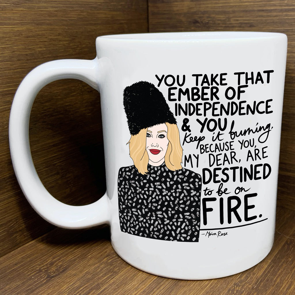 Schitt's Creek Moira Independence Mug