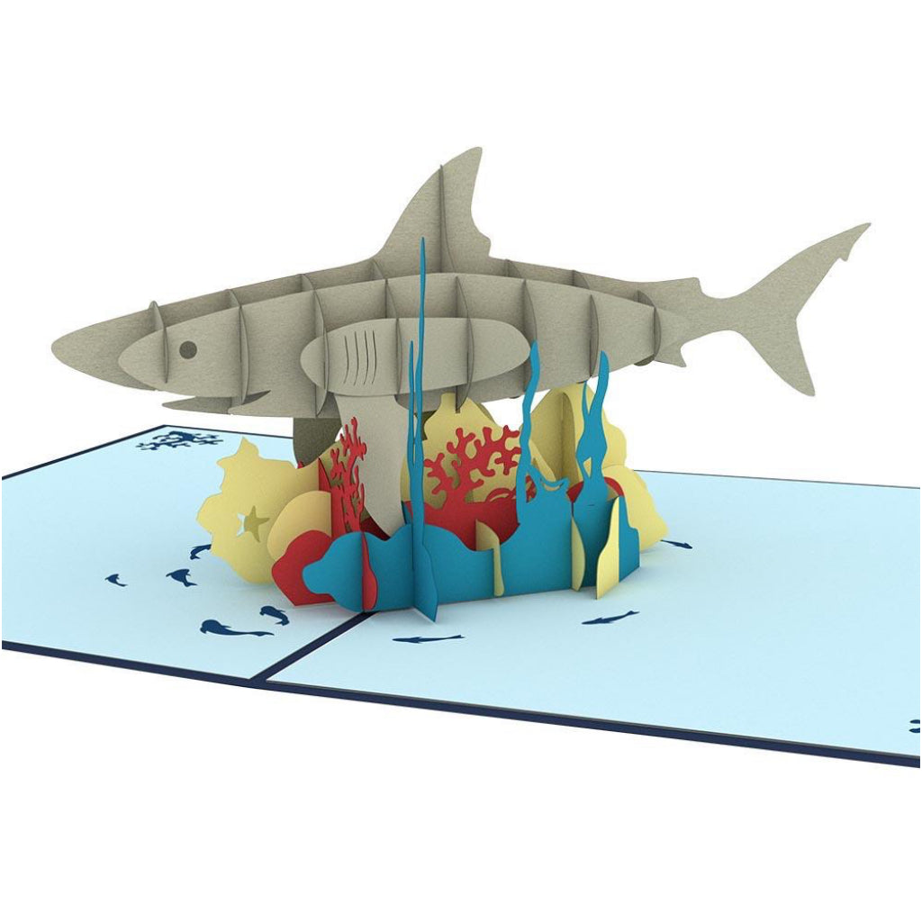 Shark 3D Pop Up Card