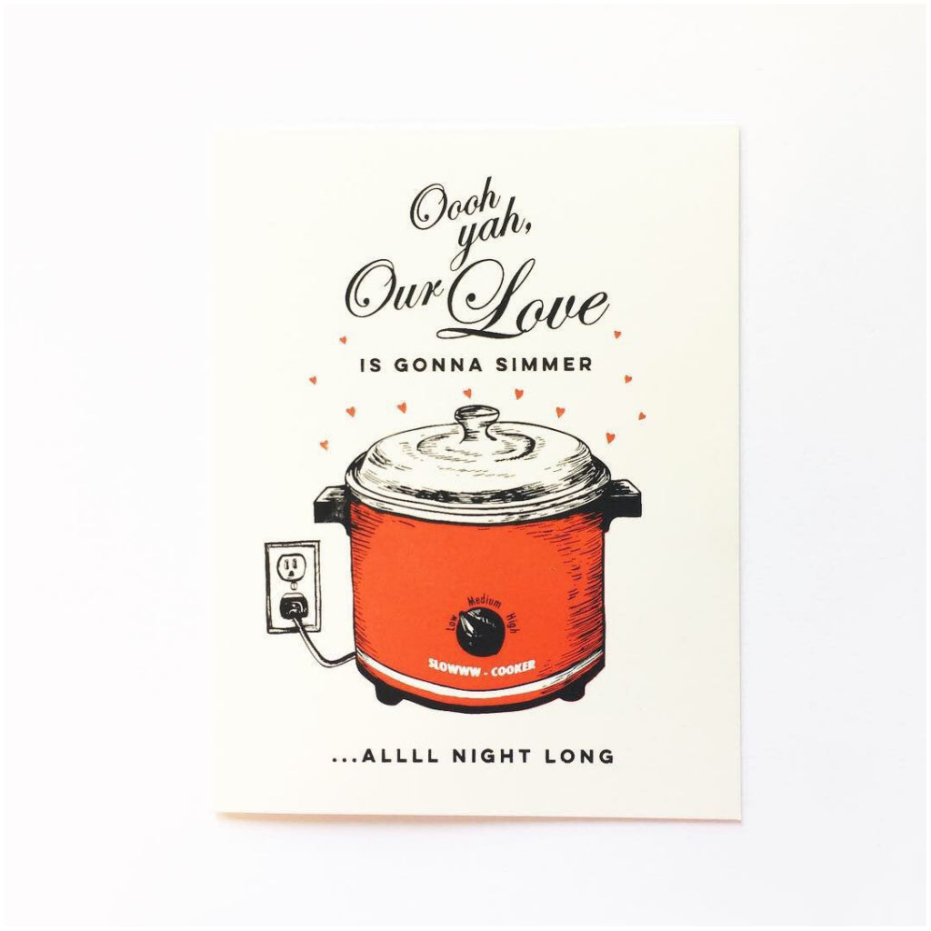 Slow Cooker Love Card