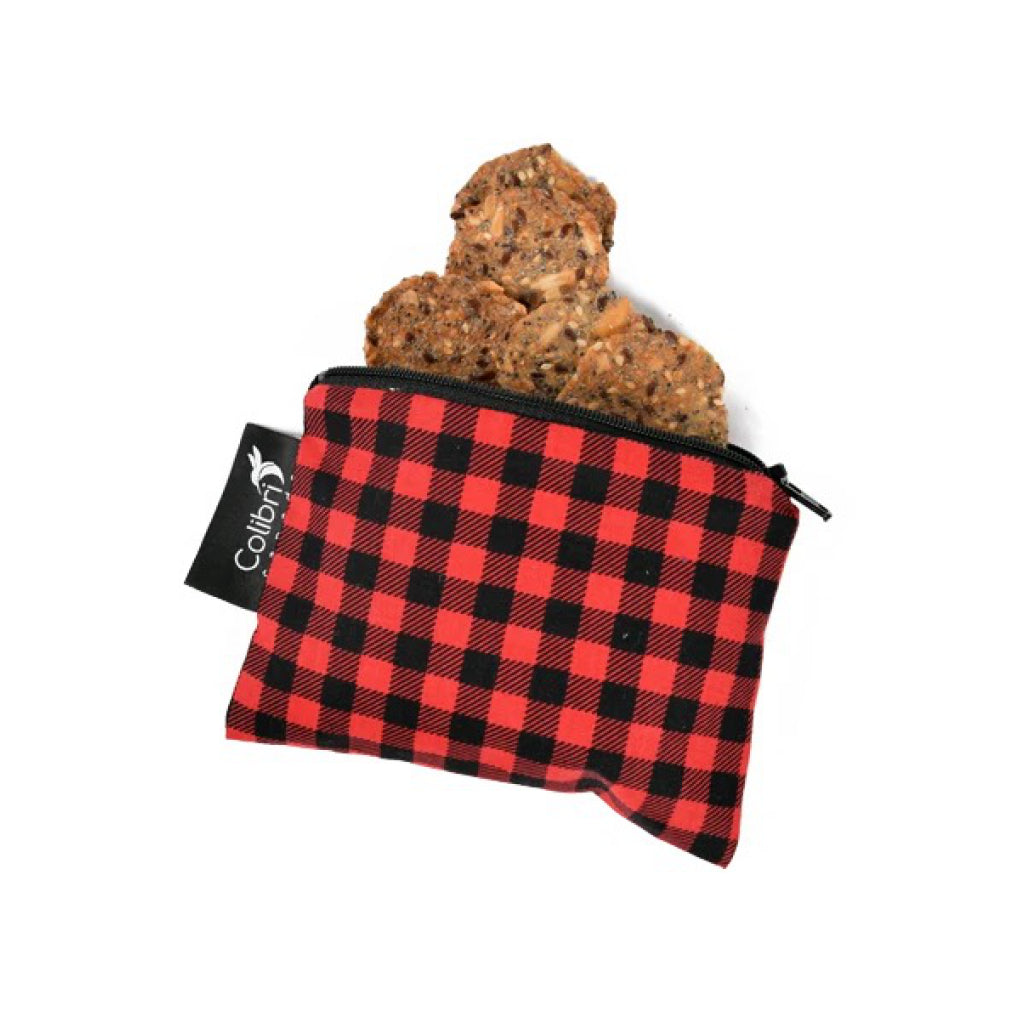 Small Snack Bag - Plaid Lifestyle