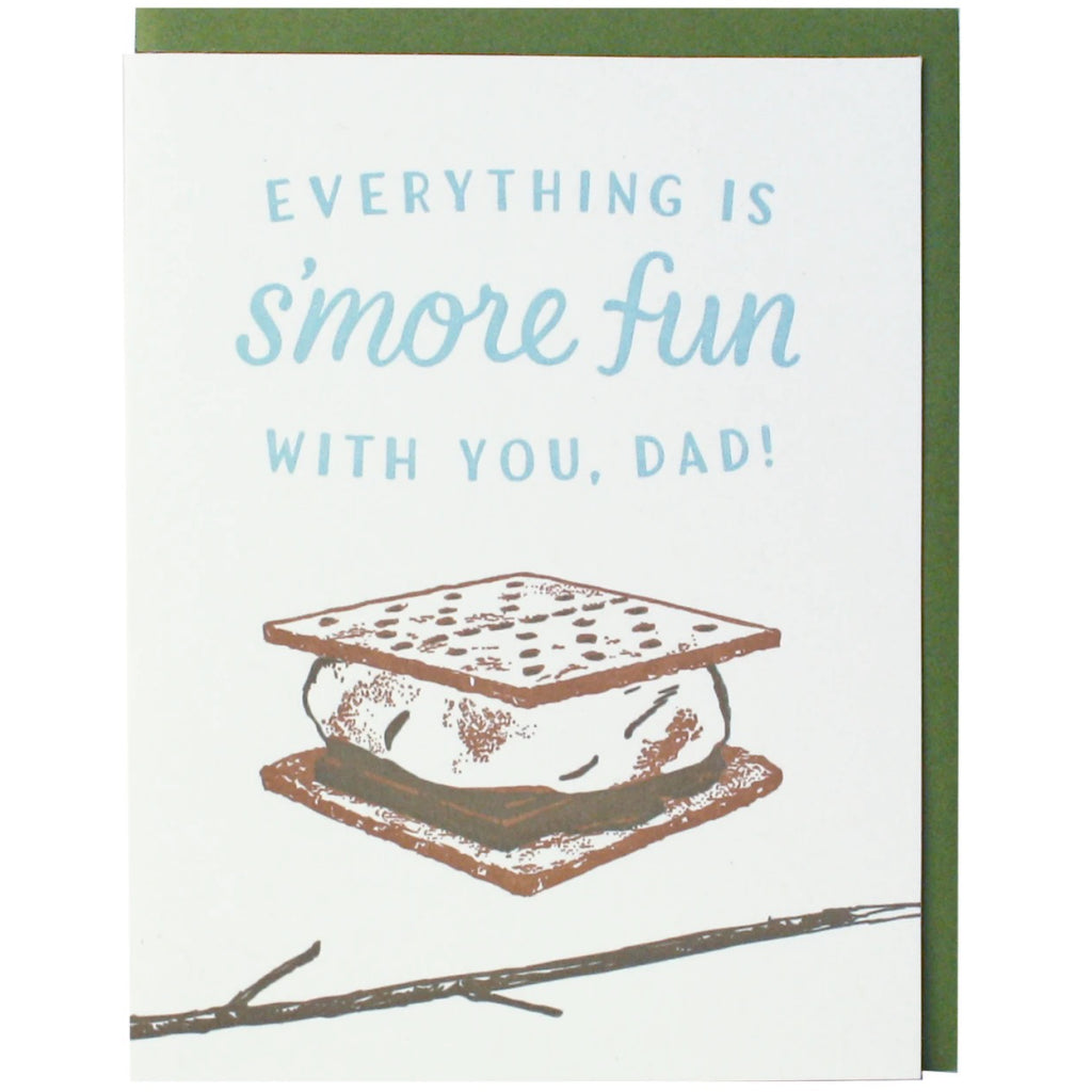 S'more Fun Dad Card