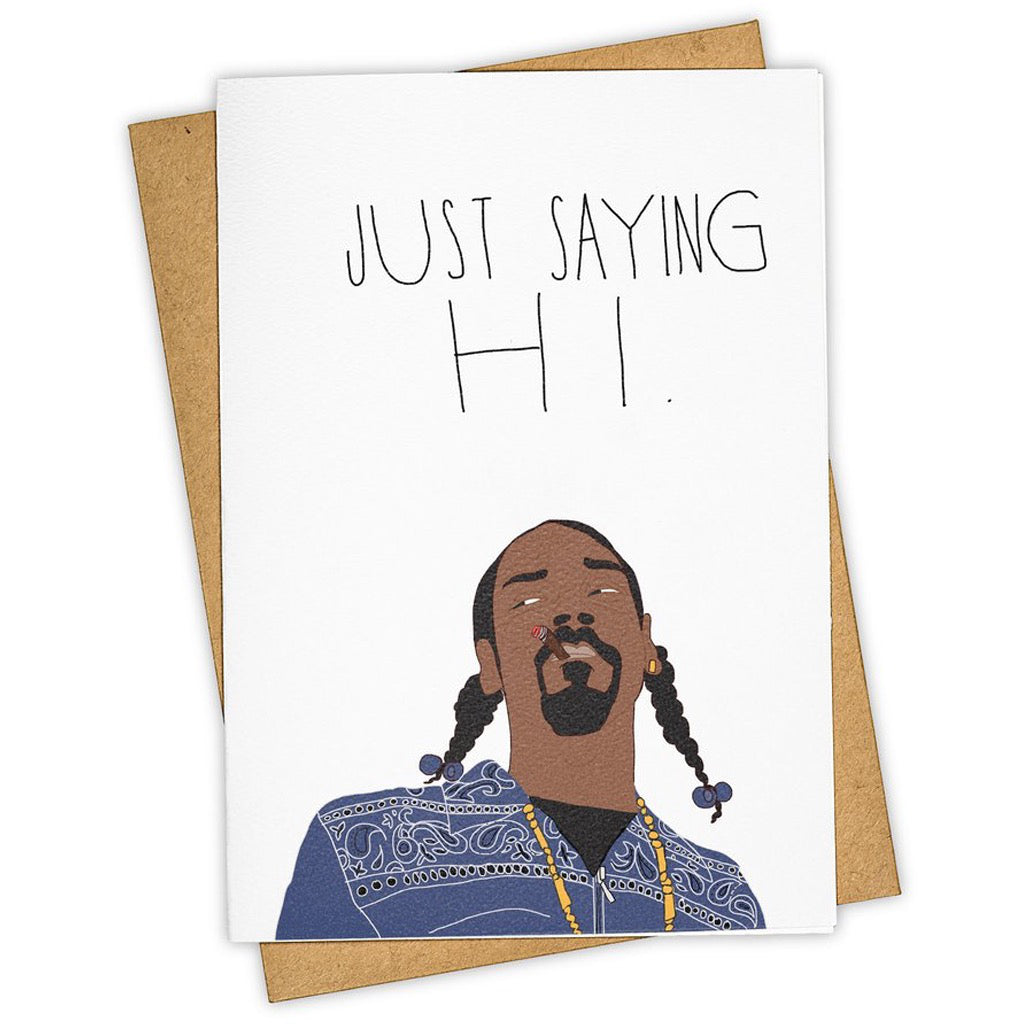 Snoop Braids Hi Card