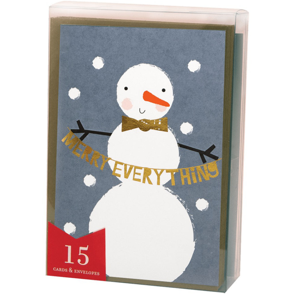 Snowmuch To Celebrate Boxed Christmas Cards.