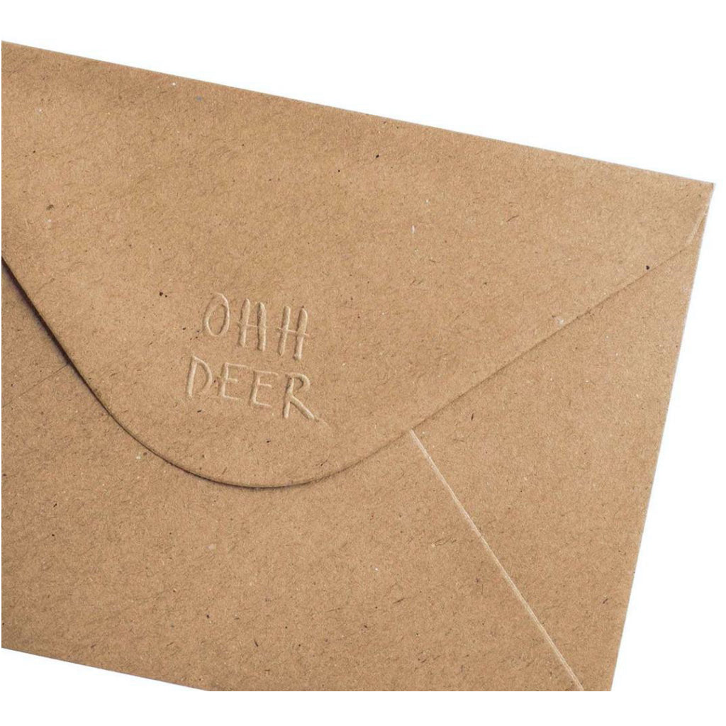 Soccer Stuff Birthday Card Envelope