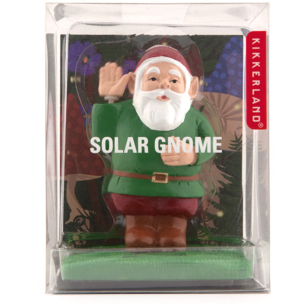 Packaging of Solar Gnome.