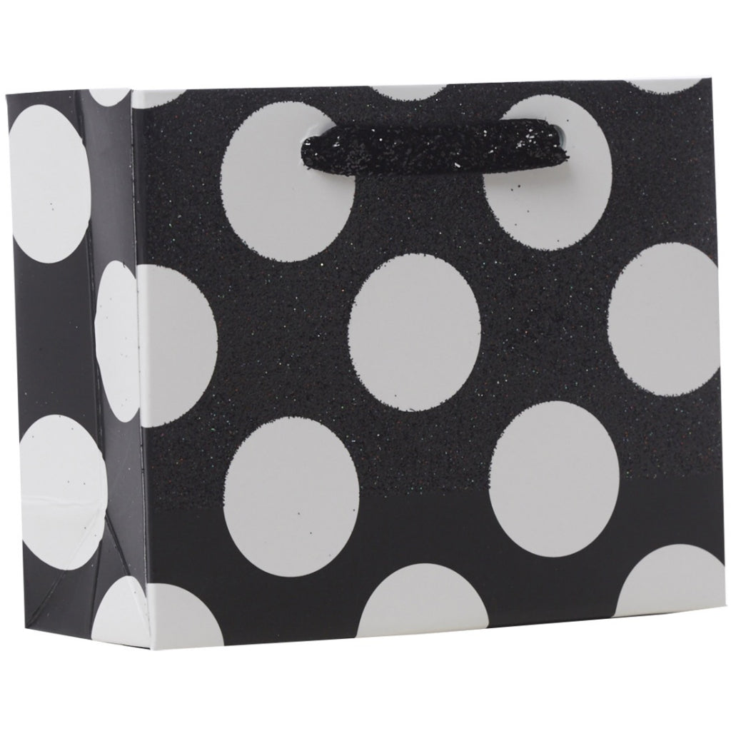 Sophisticate Tiny Tote Polka Dots