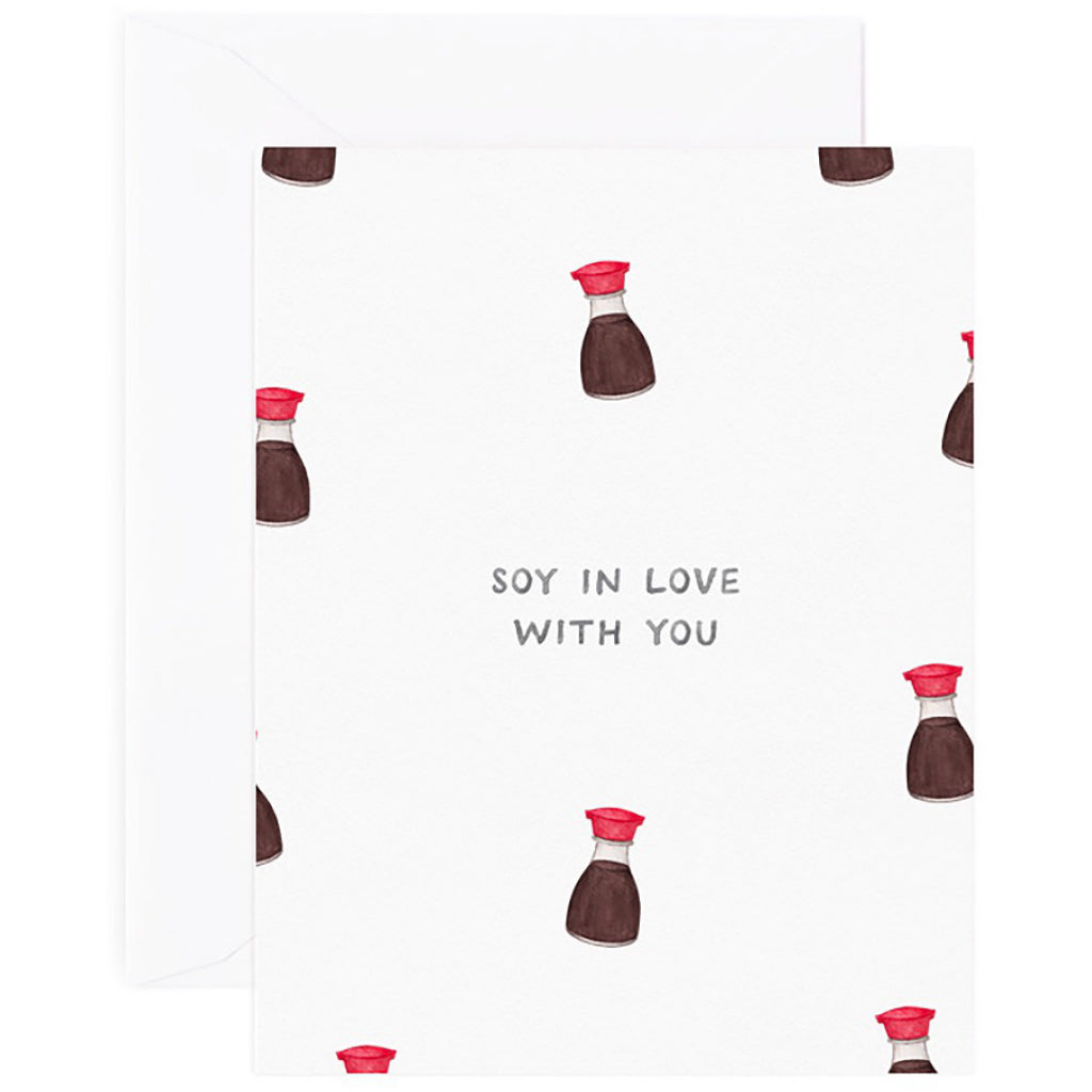 Soy In Love Card