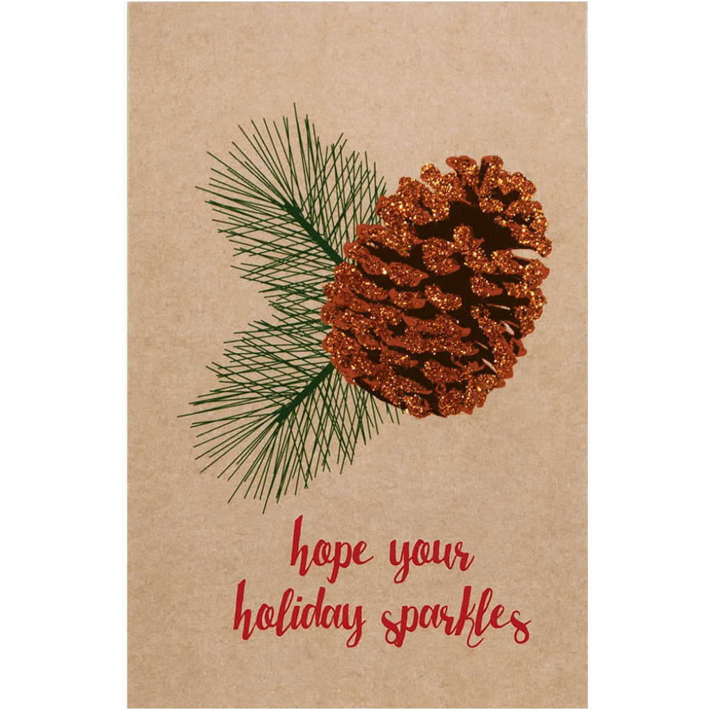 Sparkle Pines Boxed Christmas Cards by The Gift Wrap Company – Outer ...